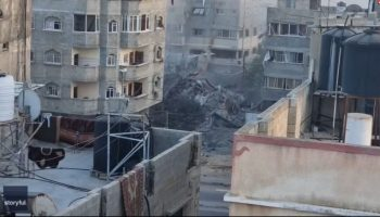 Israel-Gaza conflict continues to intensify; rockets reported from Lebanon