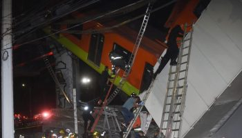 Overpass collapse kills 15 people, injures 70 in Mexico City