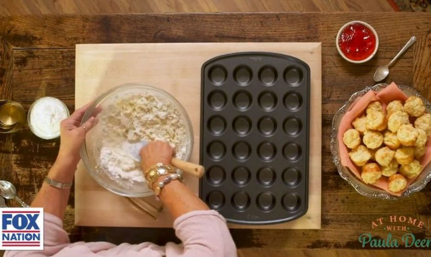 Paula Deen cooks biscuits and bacon in special episode of 'At Home'