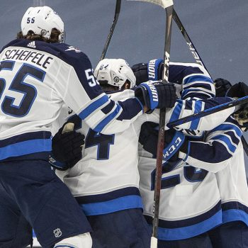 Stastny scores in OT, Jets beat Oilers 1-0 for 2-0 lead