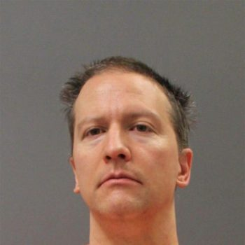 Minnesota Department of Corrections Intake mugshot of Derek Chauvin