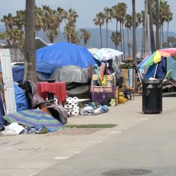 Venice described as 'constant emergency zone' as calls grow for action to address homelessness crisis