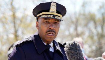 In this April 2, 2021, file photo, Washington Metropolitan Police Department chief Robert Contee speaks during a news conference in Washington. (AP Photo/Alex Brandon)