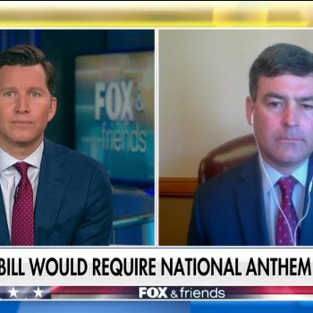Wisconsin lawmaker on 'Fox & Friends': Bill requiring anthem at games is for Americans to 'come together'