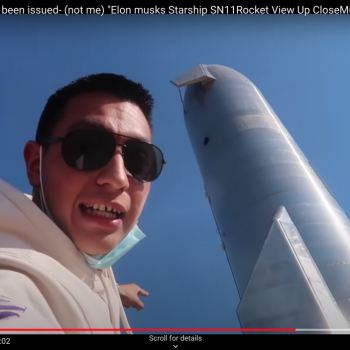 YouTuber filmed himself at SpaceX launch site in Texas. Now, he's wanted by police