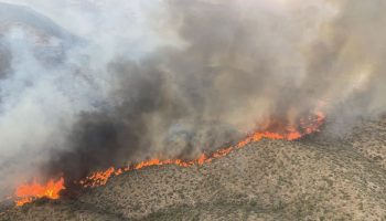 2 Arizona wildfires burn 60,000 acres and force hundreds of people to evacuate