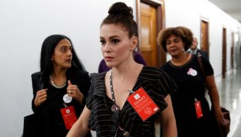 Actress Alyssa Milano teased a 'potential' run for a House seat and said a decision on the matter could come after the 2022 midterm elections.