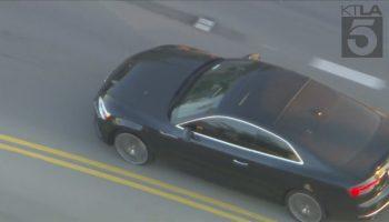 Authorities chasing driver in stolen vehicle through Burbank