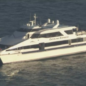 Authorities searching for man who fell overboard vessel near Catalina Island