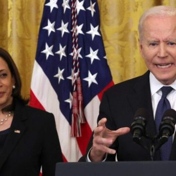 Biden and Harris shock diners with visit to DC restaurant