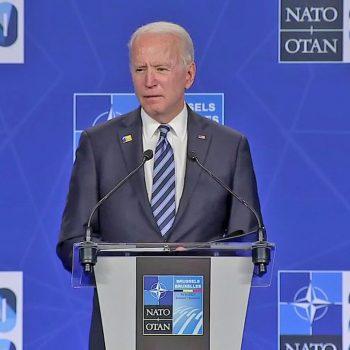 Biden says Ukraine hasn't met NATO membership criteria