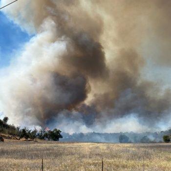 Casitas Fire burns 188 acres near Lake Casitas in the Ojai Valley