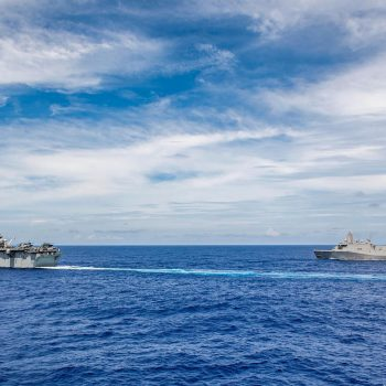 Deal to buy four amphibious warships losing steam, as Navy takes another look at future force needs