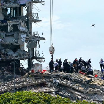 Death toll at Florida condo collapse site grows to 5 after rescue crews find additional body