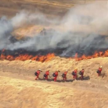 Evacuations ordered in 150-acre King Fire in Lancaster