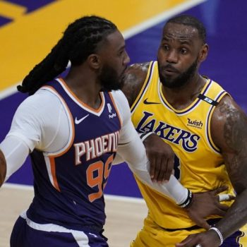 Lakers eliminated from playoffs in 113-100 loss to Suns, ending bid for championship repeat