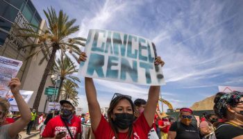 Newsom signs extension of California eviction protections, rent relief into law