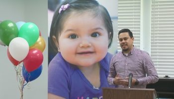 O.C. dad leans on baby daughter on Father's Day to cope with pain of losing wife in crash