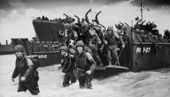 Remembering D-Day: 'We're here because of what they did'