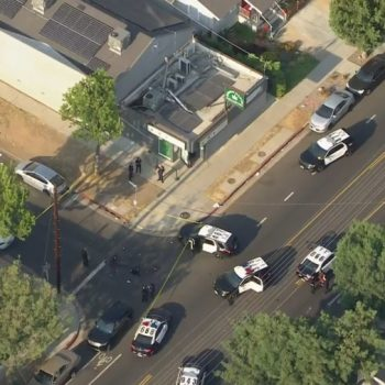 Security guard wounded in deadly shootout with armed men at Highland Park pot dispensary