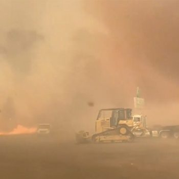 'Fire whirl' captured on video during Tennant Fire in NorCal