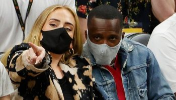 Adele was spotted with NBA agent Rich Paul at Game 5 of the finals Saturday. The two are rumored to be dating.