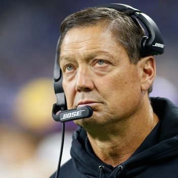 Anti-vaxxer coach Rick Dennison will stay with Vikings after all