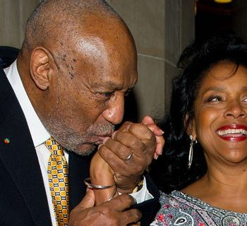 NEW YORK, NY - SEPTEMBER 26: Comedian Bill Cosby (L) and actress Phylicia Rashad attend the 2nd annual Legacy to Promise Gala at The Riverside Theatre on September 26, 2011 in New York City. (Photo by Michael Stewart/WireImage)