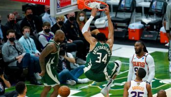 Bucks get blowout win over Suns in Game 3 of NBA Finals