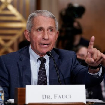 CDC may back wearing face masks more, Fauci says