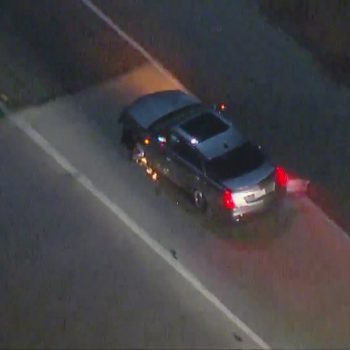 CHP in pursuit of vehicle in Long Beach area