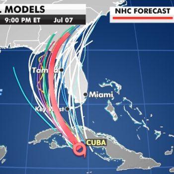 Elsa latest: Tropical storm heads towards Florida Keys after thrashing Cuba, Caribbean