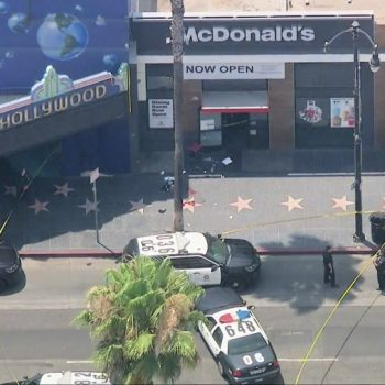 LAPD reports police shooting in the heart of Hollywood