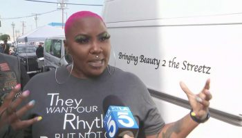 Long Beach woman is beautifying the streets of Skid Row one makeover at a time