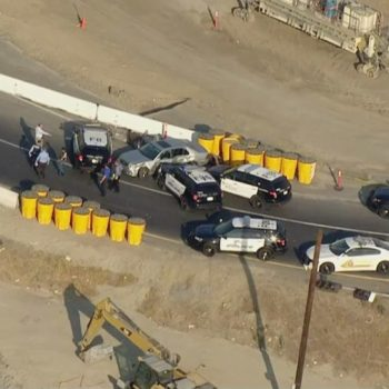 Man dies after being shot by Fontana police at end of pursuit on 10 Fwy in Ontario