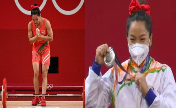 Mirabhai Chanu wins Silver medal in Tokyo Olympics 2020