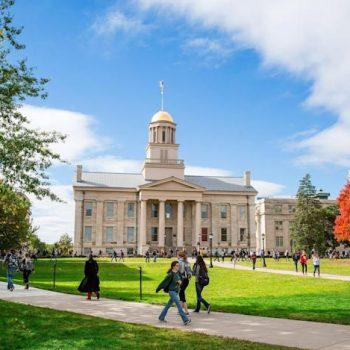University of Iowa in Iowa City in 2015.