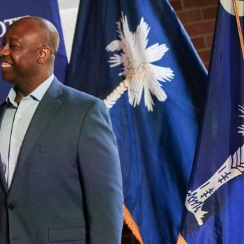 SC's Tim Scott pulls in $9.6M from donors, setting aside millions before 2022 race