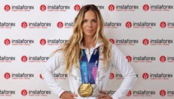 Yuliya Efimova as Brand Ambassador of Instaforex