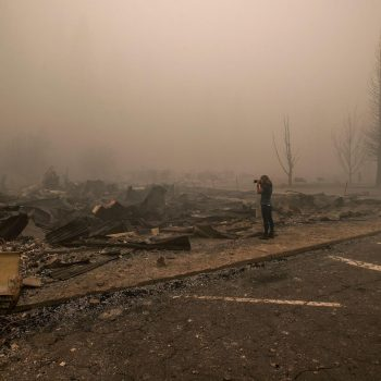 'I still feel it isn't real': Gold Rush town residents reckon with wildfire devastation