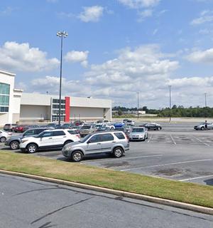 Macon Mall parking lot