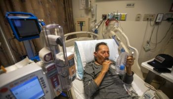 Hospitals across California are filling again as Delta variant rages