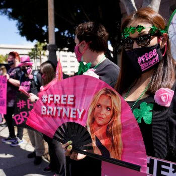 L.A. judge denies Spears' request to move up hearing on father's removal from conservatorship