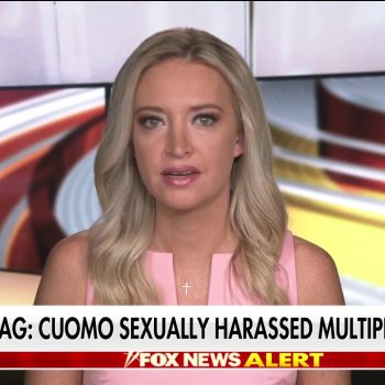'Outnumbered' on Cuomo's sexual harassment: McEnany says governor 'drunk on power'