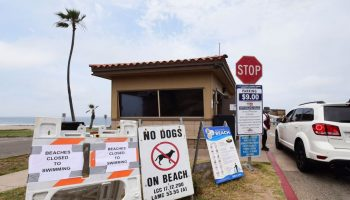 Problems persist at Hyperion plant in El Segundo, while officials continue to caution residents about bacteria levels at some beaches