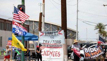 Protest in Maricopa County, Arizona.