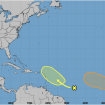 There are 2 Atlantic systems — and one may become a tropical depression, forecast says