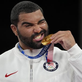 US wrestler Gable Steveson wins gold medal in dramatic fashion at Tokyo Olympics