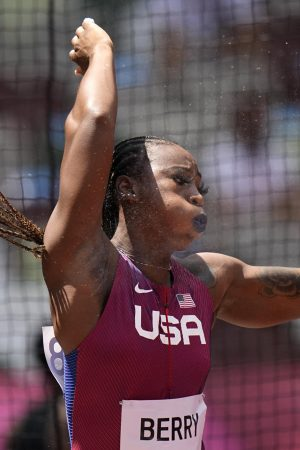 USA's Berry: 'I've earned the right to wear this uniform'